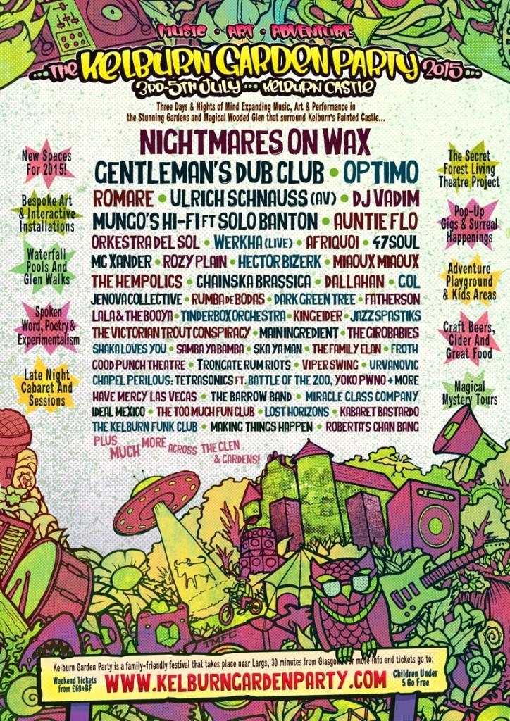 Kelburn Festival 2015