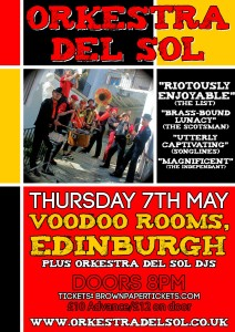 Orkestra del Sol Edinburgh May 2015