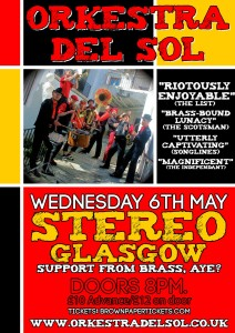 Orkestra del Sol Glasgow May 2015